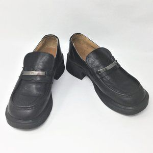 Vintage Dr. Martens Black Loafer Leather US 8